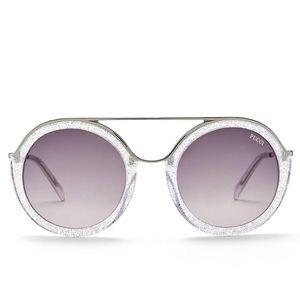 Ep003/S 52mm Metal Sparkle Sunglasses